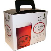 St Peter's Ruby Red Ale 3.0 Kg 40 Pint Beer Kit